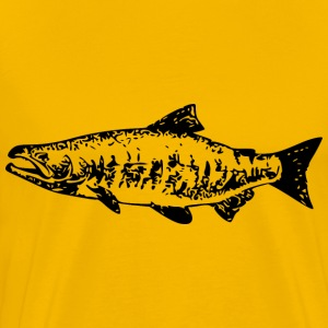 Salmon - Men's Premium T-Shirt