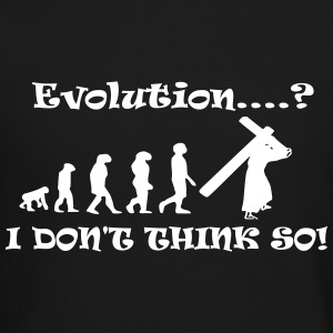 Evolution....? I Don't Think So! - Crewneck Sweatshirt