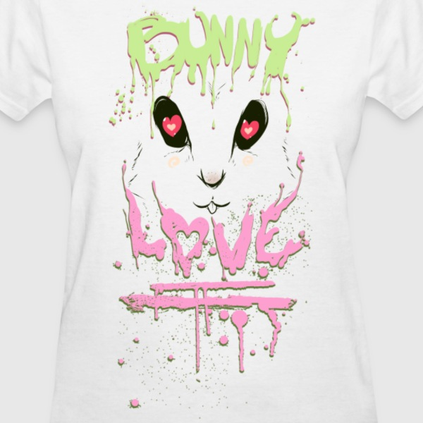 Bunny Love Tee - Women's T-Shirt