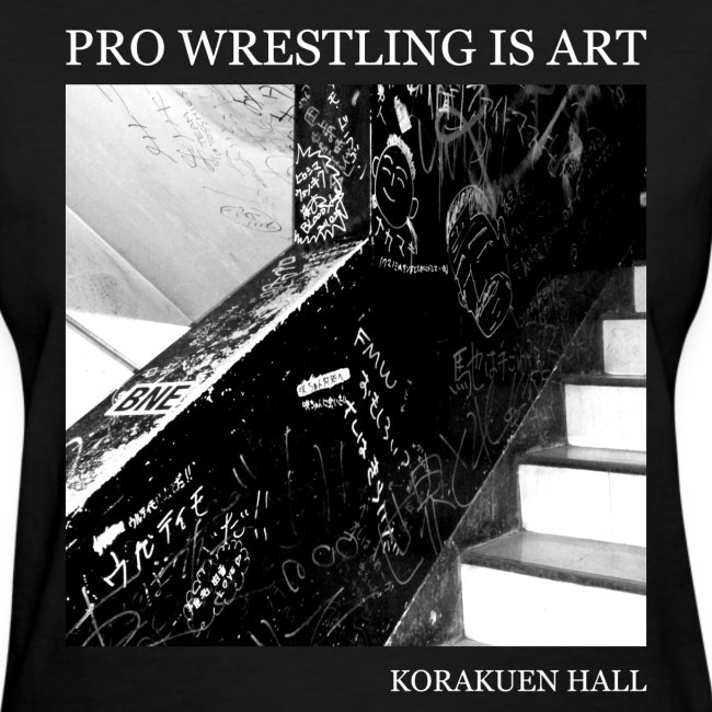 Pro Wrestling Is Art | Korakuen Hall