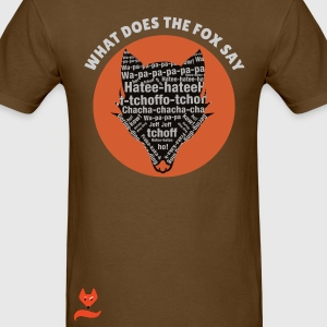 Hatee-Hatee Ylvis What does the Fox say T-Shirts - Men's T-Shirt