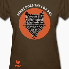 Hatee-Hatee Ylvis What does the Fox say Women's T-Shirts