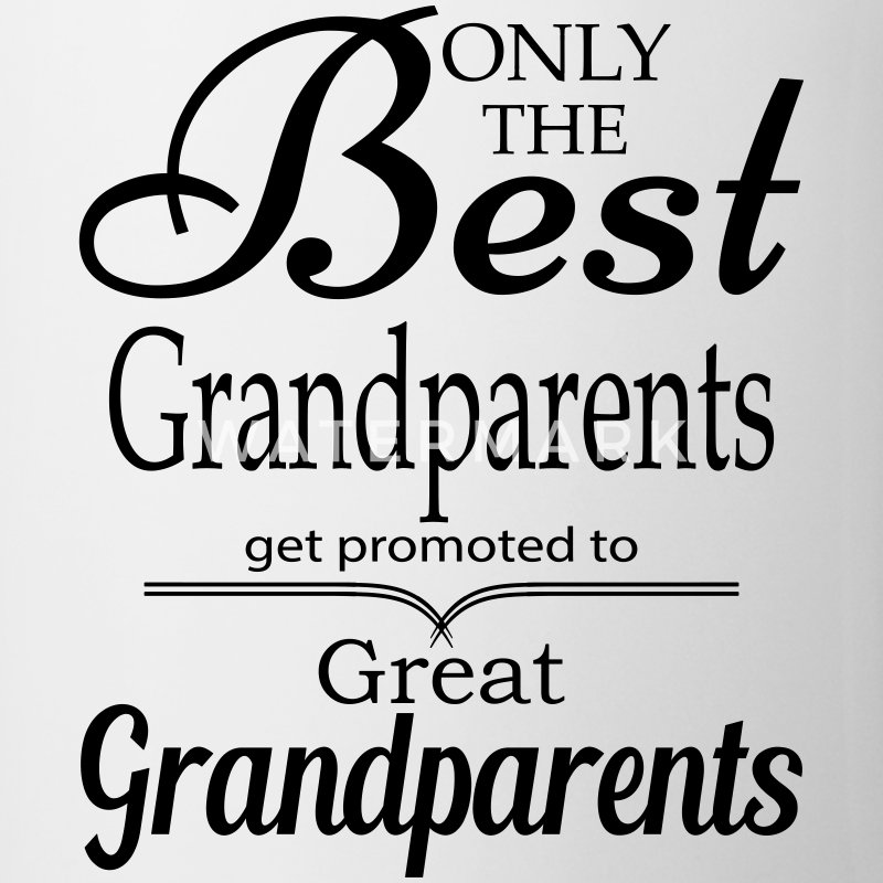 The Best Grandparents Get Promoted to Grandparets Mugs & Drinkware - Coffee/Tea Mug