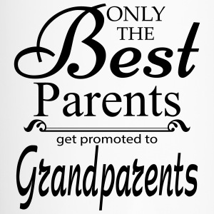 The Best Parents Get Promoted to Grandparents Mugs & Drinkware - Travel Mug