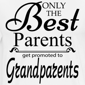 The Best Parents Get Promoted to Grandparents T-Shirts - Men's Premium T-Shirt