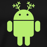 Design ~ android christmas santa rudolf