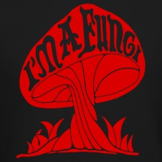 I'm A Fungi - Red Long Sleeve Shirts
