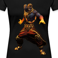 Design ~ Smite Agni Women's T-shirt