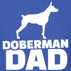 Doberman Dad T-Shirts - Men's T-Shirt