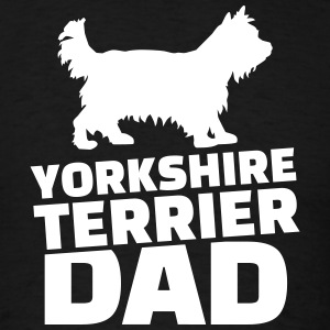 Yorkshire Terrier Dad T-Shirts - Men's T-Shirt