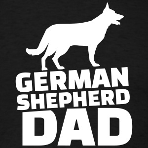 German shepherd Dad T-Shirts - Men's T-Shirt