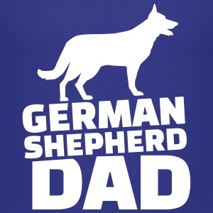 German shepherd Dad Kids' Shirts - Kids' Premium T-Shirt
