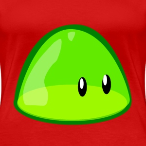 green blob - Women's Premium T-Shirt