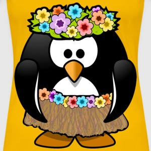 Hawaiian Penguin - Women's Premium T-Shirt