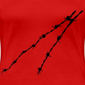 Barbed wire - Women's Premium T-Shirt