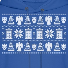 Doctor Who Ugly Christmas Design Hoodies