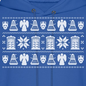 Doctor Who Ugly Christmas Design Hoodies - Men's Hoodie