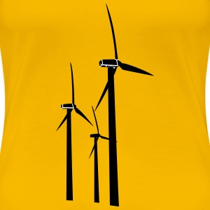 Wind Turbines - Women's Premium T-Shirt