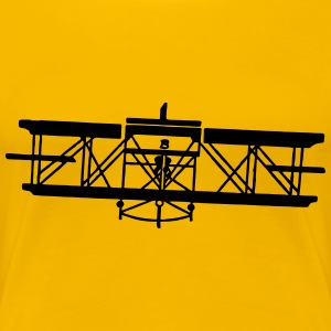 Vintage airplane - Women's Premium T-Shirt