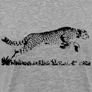 Running Cheetah - Men's Premium T-Shirt