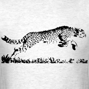 Running Cheetah - Men's T-Shirt