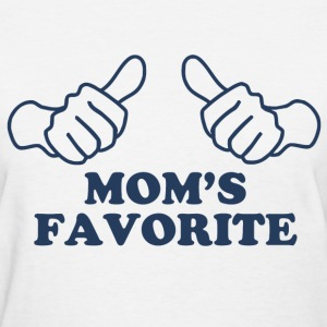 Mom's Favorite Women's T-Shirts - Women's T-Shirt