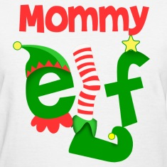 Mommy Elf Women's T-Shirts
