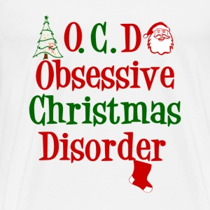 OCD -Obsessive-Christmas-Disorder - Find the candy - Men's Premium T-Shirt