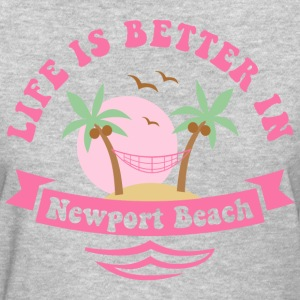 Life's Better In Newport Beach Women's T-Shirts - Women's T-Shirt