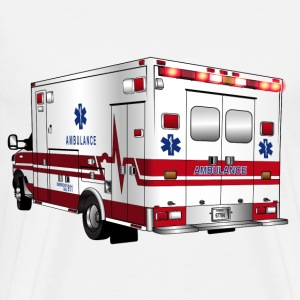 ambulance vehicle - Men's Premium T-Shirt