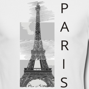 paris Long Sleeve Shirts - Men's Long Sleeve T-Shirt by Next Level