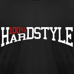 100% Hardstyle 2 T-Shirts - Men's T-Shirt by American Apparel