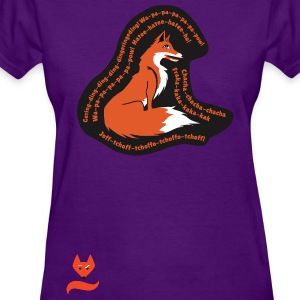 Sitting Pretty Ylvis What does the Fox say  - Women's T-Shirt
