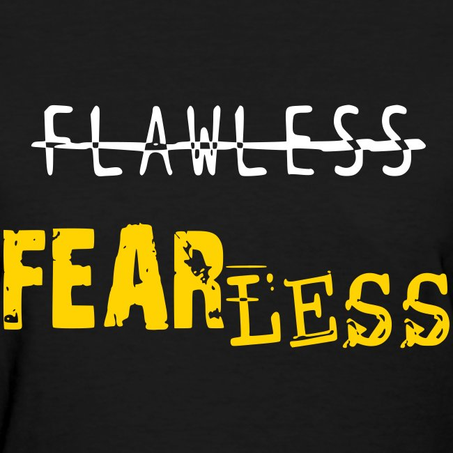 FEARLESS-Black & Gold