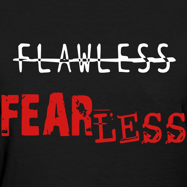 FEARLESS- Black & Red
