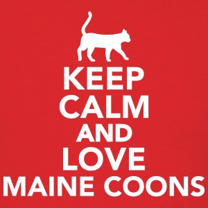 Keep calm and love Maine Coons T-Shirts - Men's T-Shirt