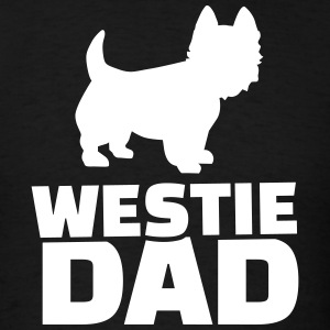 Westie Dad T-Shirts - Men's T-Shirt
