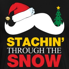 Staching Through The Snow T-Shirts
