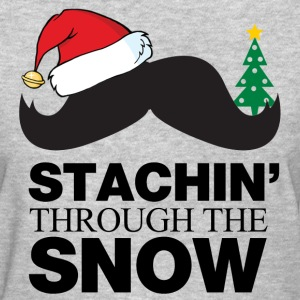 Staching Through The Snow Women's T-Shirts - Women's T-Shirt