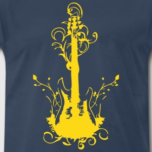 Rock guitar - Men's Premium T-Shirt