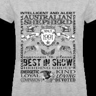 Design ~ Women's Australian Shepherd 'Best in Show' T Shirt