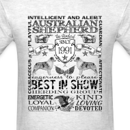Design ~ Australian Shepherd 'Best in Show' T shirt