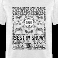 Design ~ Australian Shepherd 'Best in Show' T shirt