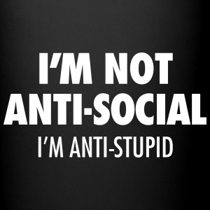 Not Anti-Social - Full Color Mug