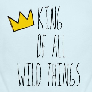 Kind of all Wild Things - Short Sleeve Baby Bodysuit