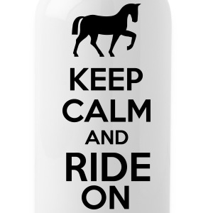 Keep Calm And Ride On Mugs & Drinkware - Water Bottle
