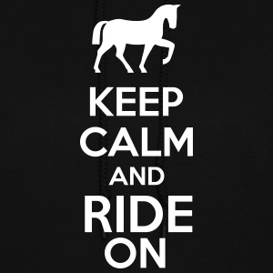 Keep Calm And Ride On Hoodies - Women's Hoodie