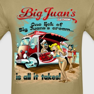 Big Juan's Balls of Ice Cream - Men's T-Shirt