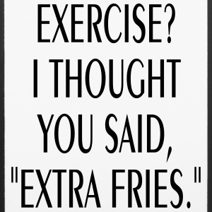 FUNNY EXTRA FRIES IPHONE6 CELL PHONE CASE - iPhone 6/6s Rubber Case