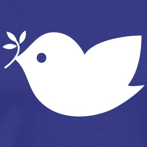 Peace Bird Icon T-Shirts - Men's Premium T-Shirt